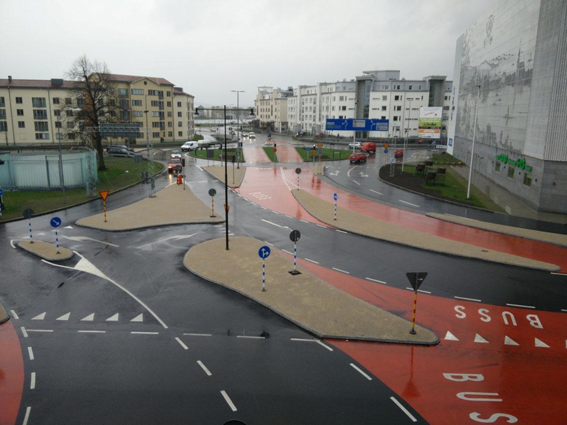trafikplatsbeläggning