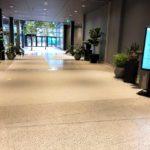 snyggt golv för offentlig miljö
